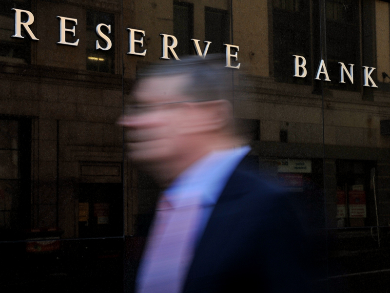 The Reserve Bank of Australia in Sydney, Monday, June 2, 2014. (AAP Image/Joel Carrett) NO ARCHIVING