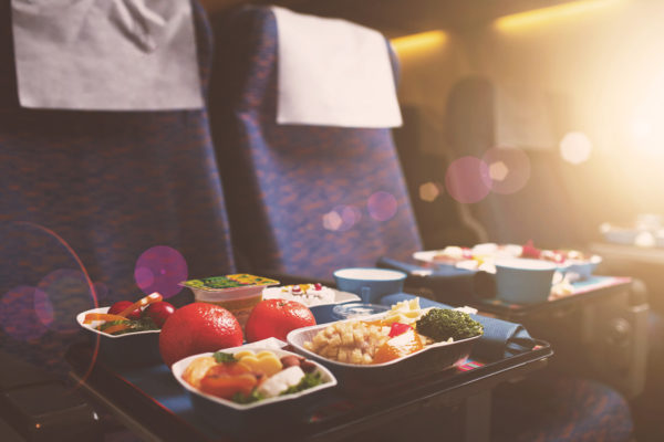 Air travel's growing hunger for good food