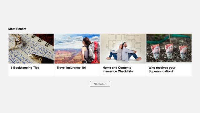 Add a fresh row of stories to your website [new product]
