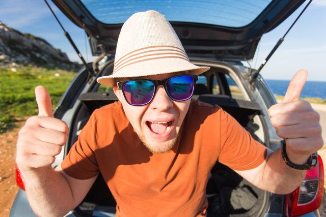 Fun SUV driver