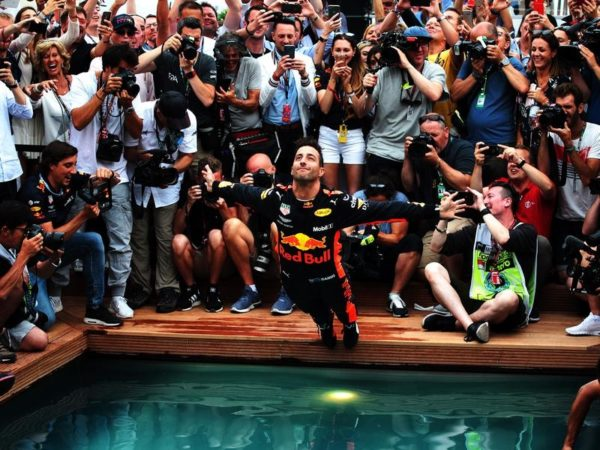 Ricciardo, Power create motorsport history